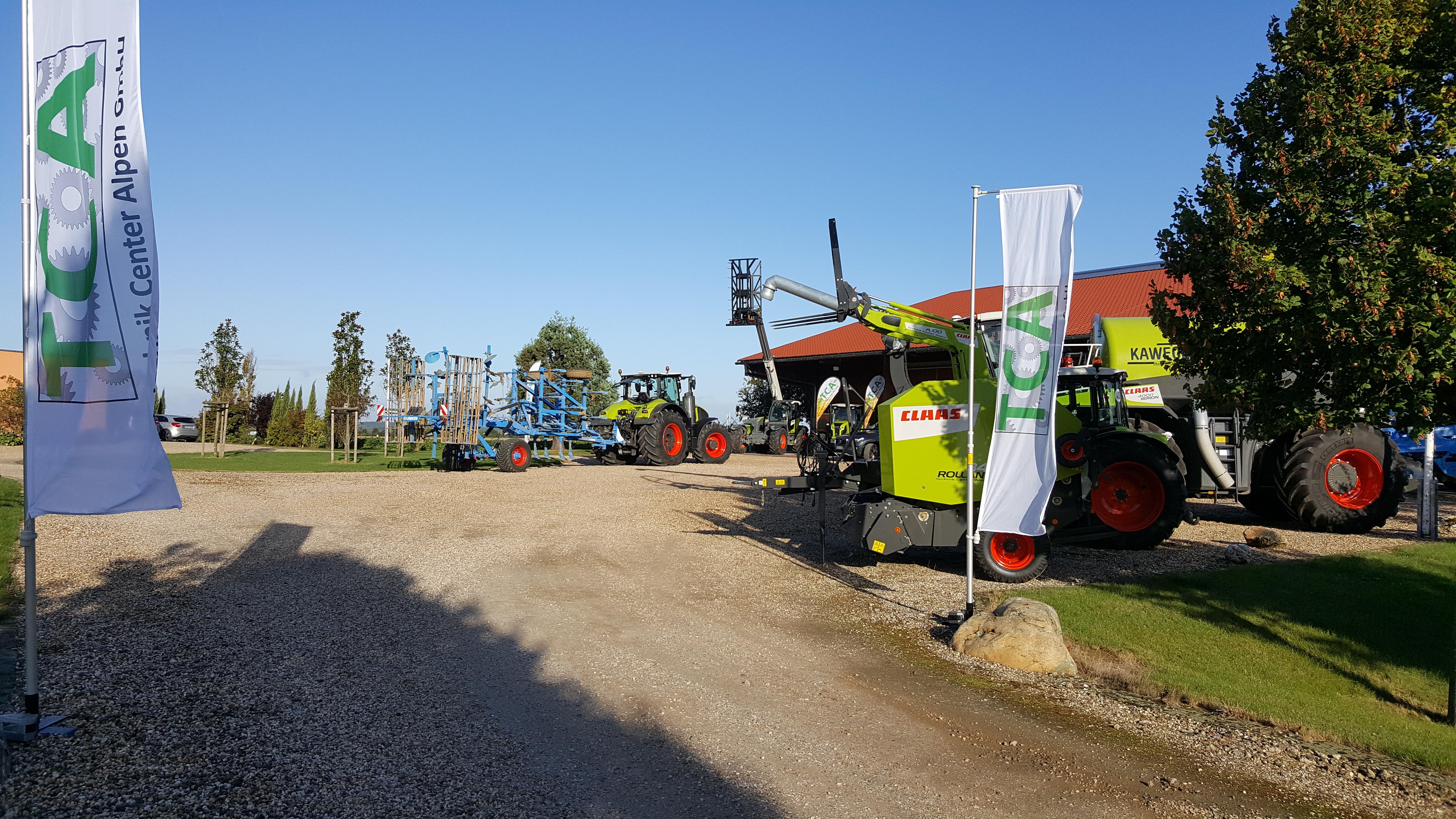 Traktorencamp in Bergheim