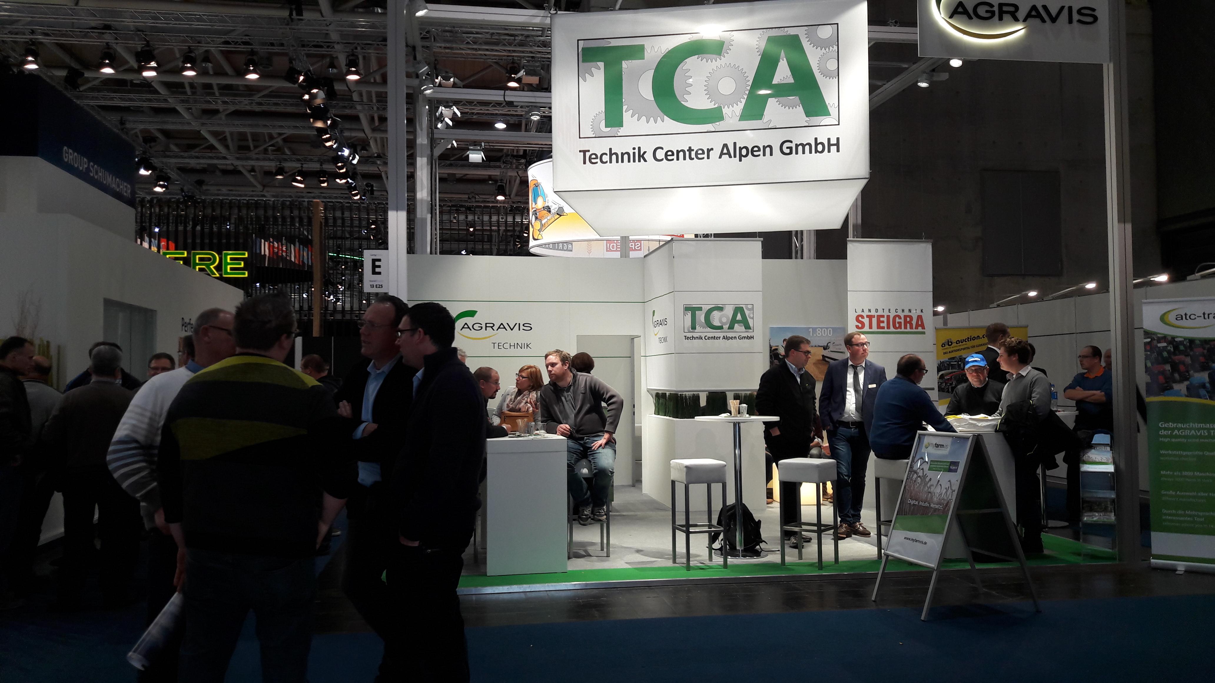Mit der TCA zur Agritechnica